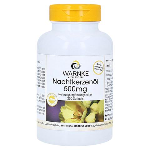 Nachtkerzenöl 500 mg Kapseln 250 Stück