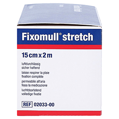 Fixomull Stretch 15 cmx2 m 1 Stück - Rechte Seite