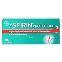Aspirin protect 100mg 42 Stück - Vorderseite