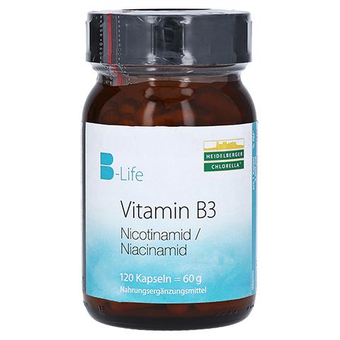 Vitamin B3 Nicotinamid Kapseln 120 Stück