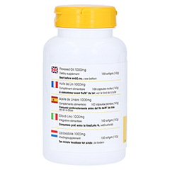 Leinöl 1000 mg 100 Stück - Rechte Seite