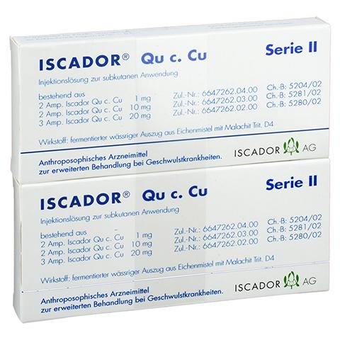 ISCADOR Qu c.Cu Serie II Injektionslösung 14x1 Milliliter N2