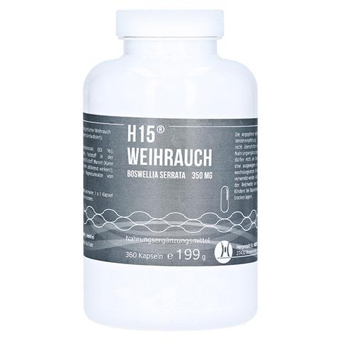 H 15 Weihrauchkapseln 350 mg 360 Stück