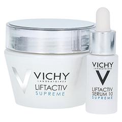 Vichy LIFTACTIV SUPREME Tagescreme trockene Haut + gratis Vichy Liftactiv Serum 10 Supreme 7ml 50 Milliliter