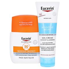 Eucerin Sun Sensitive Protect Face Fluid LSF 50+ 50 Milliliter