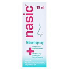 Nasic + gratis Nasic Nasenpflegestift 15 Milliliter N2 - Vorderseite