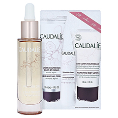CAUDALIE Premier Cru Öl 223 + gratis Caudalie Winter Essentials Kit 29 Milliliter