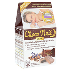 CHOCO Nuit Minis Vollmilchschokolade gute Nacht 12 Stück