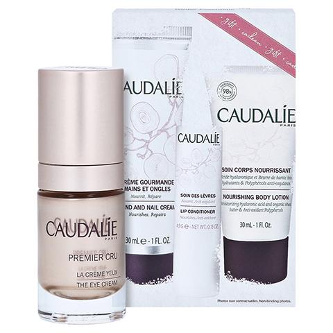 CAUDALIE Premier Cru Augencreme 221 + gratis Caudalie Winter Essentials Kit 15 Milliliter