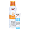 Eucerin Sun Spray Dry Touch LSF 50 + gratis Eucerin After Sun 50 ml 200 Milliliter