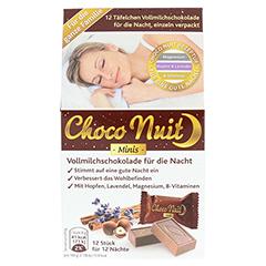 CHOCO Nuit Minis Vollmilchschokolade gute Nacht 12 Stück - Vorderseite