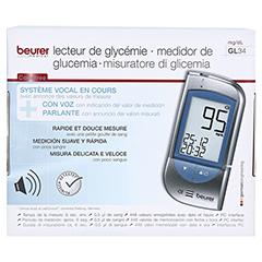 BEURER GL34 Blutzuckermessgerät mg/dl 1 Stück - Rückseite