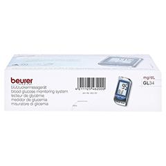 BEURER GL34 Blutzuckermessgerät mg/dl 1 Stück - Unterseite