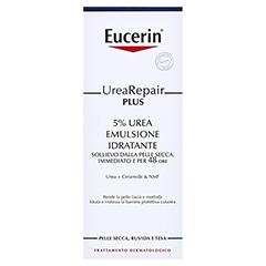EUCERIN UreaRepair PLUS Lotion 5% + gratis Eucerin Urea Repair Plus Lotion 75 ml 400 Milliliter - Rückseite