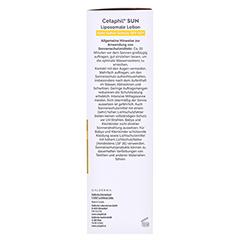 Cetaphil Sun Daylong SPF 50+ liposomale 200 Milliliter - Rechte Seite