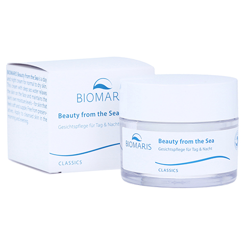 BIOMARIS Beauty from the Sea Creme Tag & Nacht 50 Milliliter