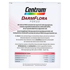 CENTRUM Fokus Darmflora Granulat 24 Stück - Rückseite