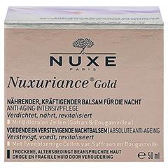 NUXE Nuxuriance Gold Kräftigender Balsam für die Nacht 50 Milliliter - Vorderseite