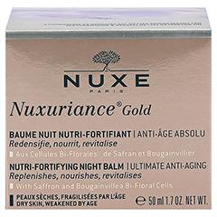NUXE Nuxuriance Gold Kräftigender Balsam für die Nacht 50 Milliliter - Rückseite
