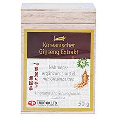 KOREANISCHER Ginseng Extrakt 50 Gramm - Vorderseite