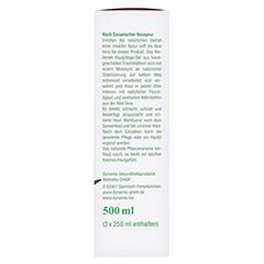 Aloe Vera 98% Bio Kanaren Gel 500 Milliliter - Rechte Seite