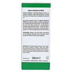 Alpecin Medical FORTE Intensiv Kopfhaut- und Haar-Tonikum 200 Milliliter - Rückseite