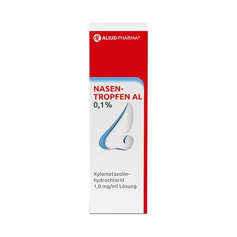 Nasentropfen AL 0,1% 10 Milliliter N1