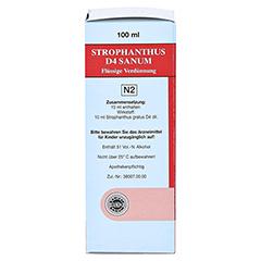 STROPHANTHUS D 4 Sanum Tropfen 100 Milliliter N2 - Rechte Seite