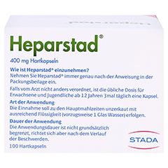 Heparstad 400mg 100 Stück N3 - Rückseite
