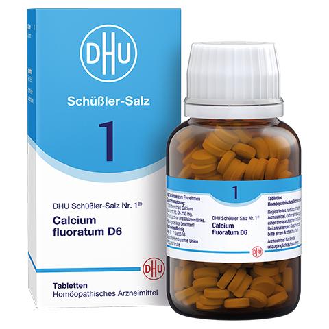 BIOCHEMIE DHU 1 Calcium fluoratum D 6 Tabletten 420 Stück N3