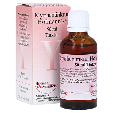 Myrrhentinktur Hofmann's 50 Milliliter