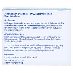Magnesium-Diasporal 100 100 Stück N3 - Rückseite