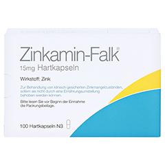 Zinkamin-Falk 15mg 100 Stück N3 - Vorderseite
