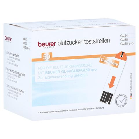 Beurer Gl44/gl50 Teststreifen 50 Stück