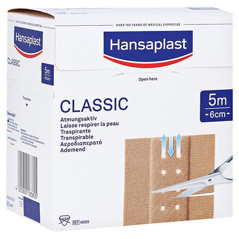 Hansaplast Classic Pflaster 6 cmx5 m 1 Stück