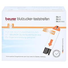 Beurer Gl44/gl50 Teststreifen 50 Stück - Vorderseite