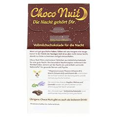 CHOCO NUIT Minis Vollmilchschokolade gute Nacht 12 Stück - Rückseite