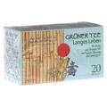 GRÜNER TEE+Ingwer+Ginseng Filterbeutel 20 Stück