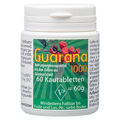 GUARANA 1000 mg Kautabletten 60 Stück
