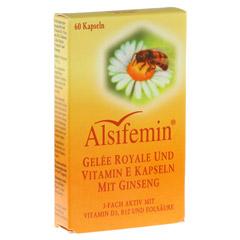 ALSIFEMIN Gelee Royal+Vit.E m.Ginseng Kapseln 60 Stück