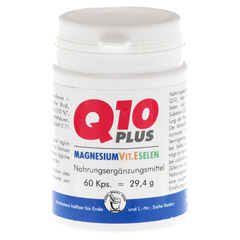 Q10 30 mg plus Magnesium Vit.E Selen Kapseln 60 Stück