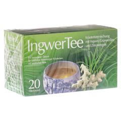 INGWER TEE Filterbeutel 20 Stück