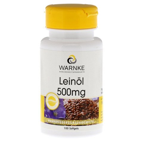 LEINÖL 500 mg Kapseln 100 Stück