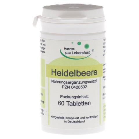 HEIDELBEER AUGEN Tabletten 60 Stück