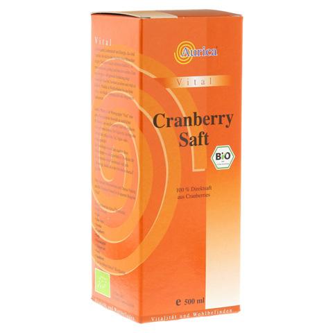 CRANBERRY 100% Direktsaft Bio 500 Milliliter