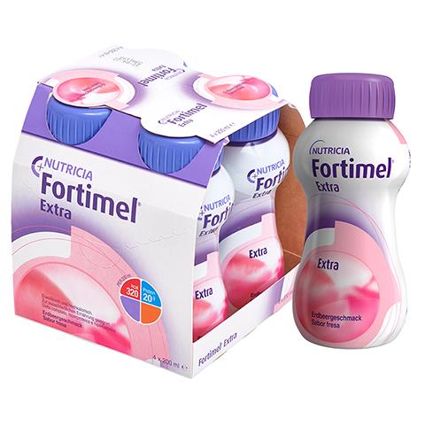 FORTIMEL Extra Erdbeergeschmack 4x200 Milliliter