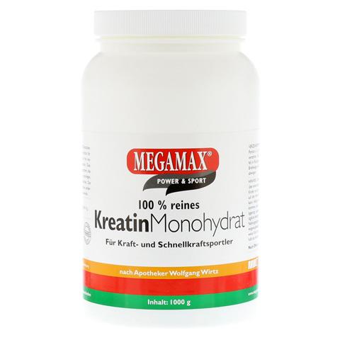 KREATIN MONOHYDRAT 100% Megamax Pulver 1000 Gramm