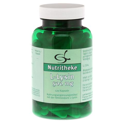L-LYSIN 500 mg Kapseln 120 Stück
