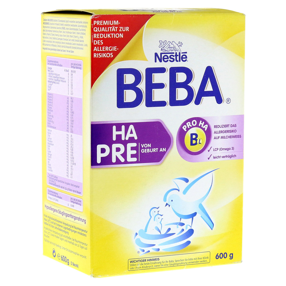 Beba Ha Pre Erfahrungen