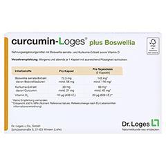 curcumin-Loges plus Boswellia 120 Stück - Rückseite
